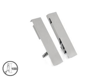 Set of frontal fittings for 204 mm inner drawer with suplements